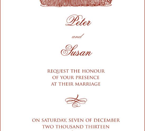 Invito nozze