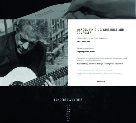 Marcos Vinicius guitarist and composer