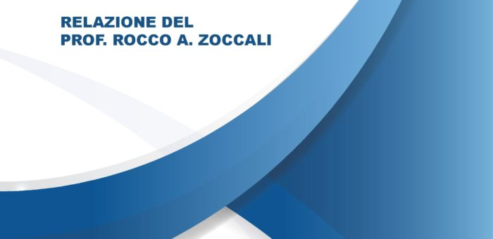 """Cover report """"Arte e Follia"""" Prof. Rocco Antonio Zoccali"""